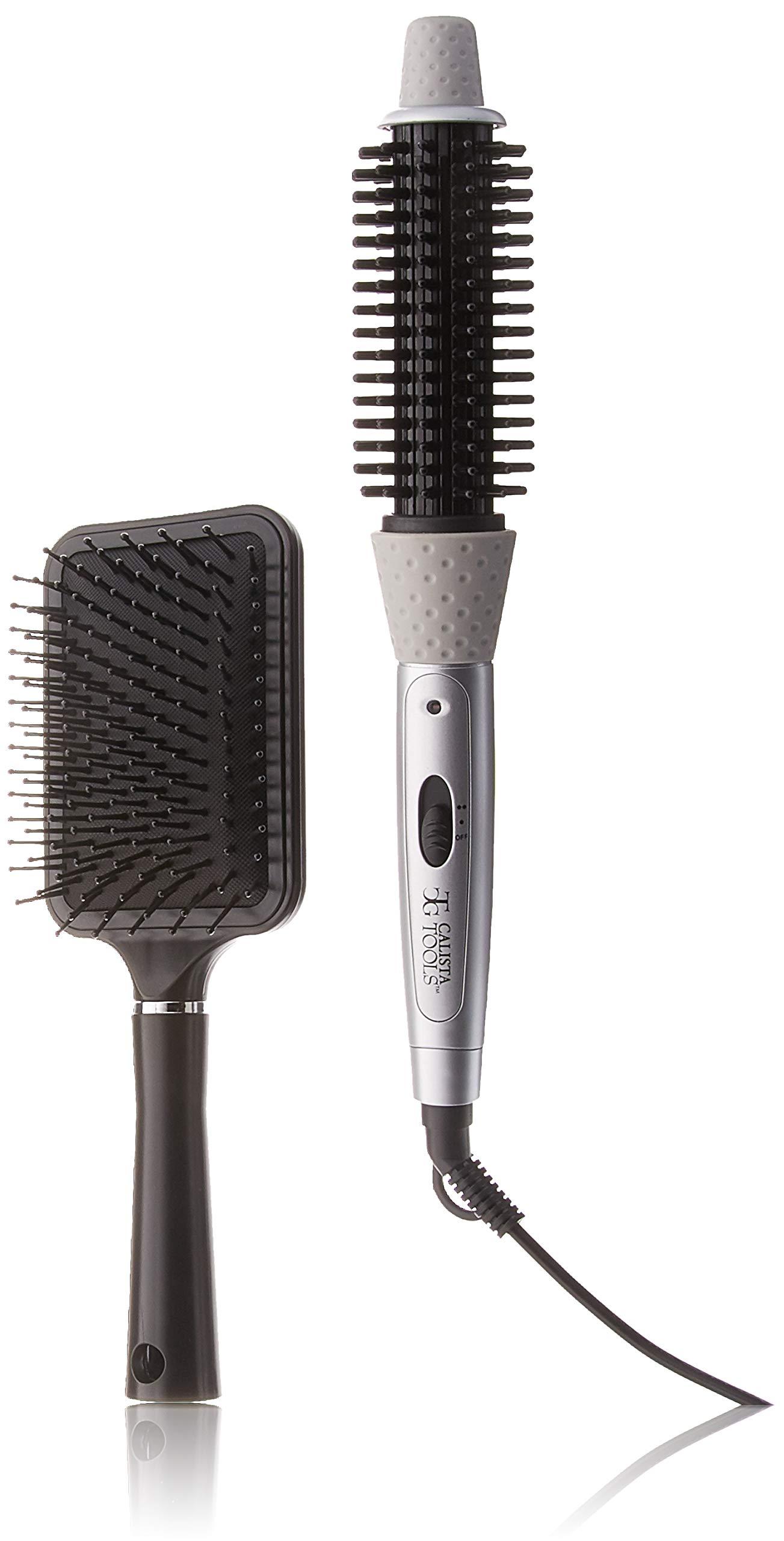 Calista Tools Perfecter Fusion Hair Styler Hot Air Brush Plus Bonuses by calista