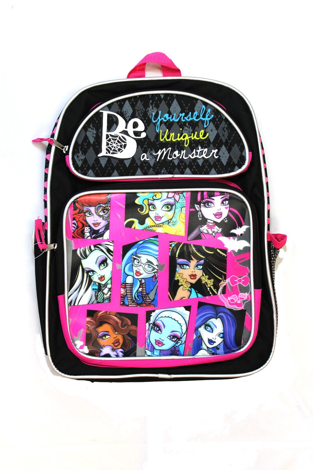 9b555b455cb5 Small Size Be Yourself Monster High Backpack - Kids Size Bookbag   Amazon.in  Toys   Games