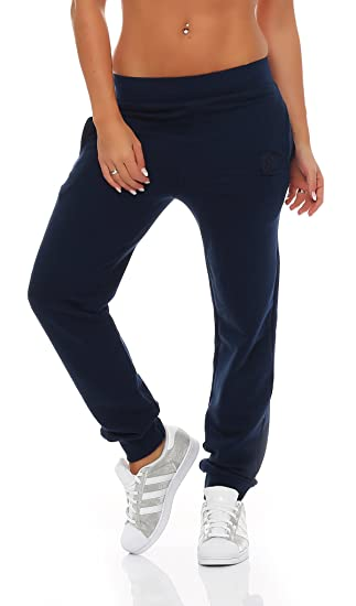 d3f363cfd0bdab Gennadi Hoppe Damen Jogginghose Trainingshose Sweat Pants Sporthose Fitness  Hose  Amazon.de  Bekleidung