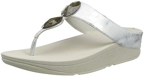 31d57e9be2aca Fitflop Women s Pierra Open Toe Sandals  Amazon.co.uk  Shoes   Bags