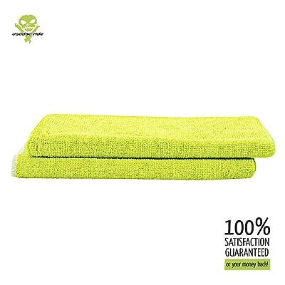 Voodoo Ride Microfiber Towels 2 Pack: Automotive