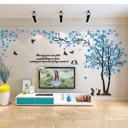 25 opinioni per Alicemall 3D Adesivi Murali Wall Sticker Forma Albero Adesivi da Parete in