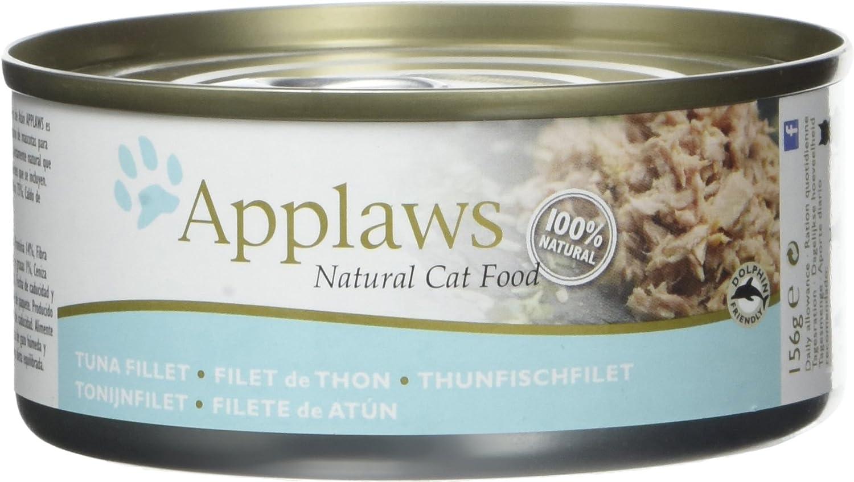 Applaws Douille de Thon Filet pour Chat 24 x 70 g 1003NE-A