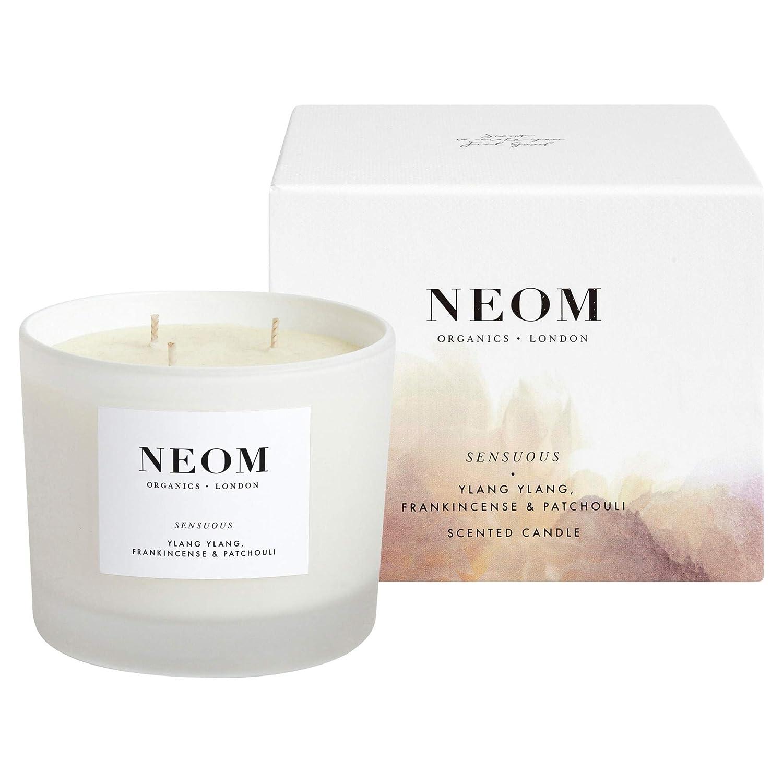 [Neom] Neom感覚的な3芯キャンドル420グラム - Neom Sensuous 3 Wick Candle 420g [並行輸入品] B07S6468TC
