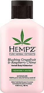product image for Hempz Blushing Grapefruit & Raspberry Creme Herbal Body Moisturizer Lotion - Fruit Body Cream