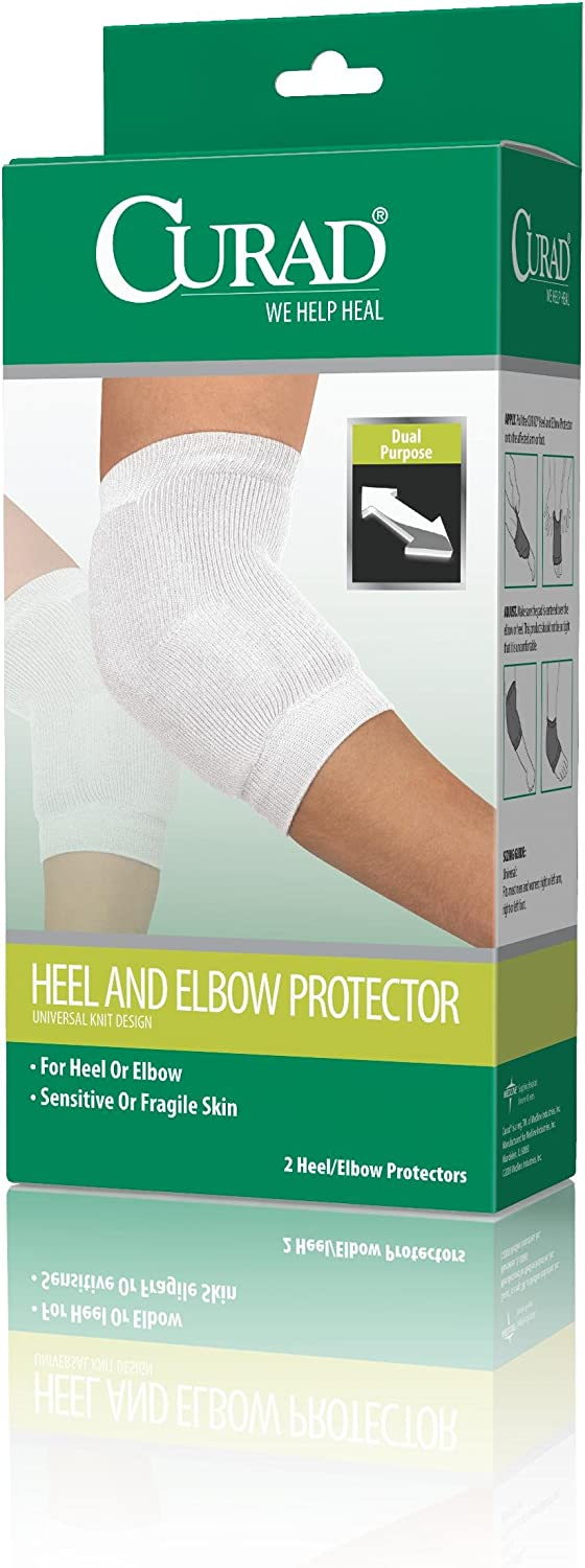 2 Count Curad Universal Heel and Elbow Protector