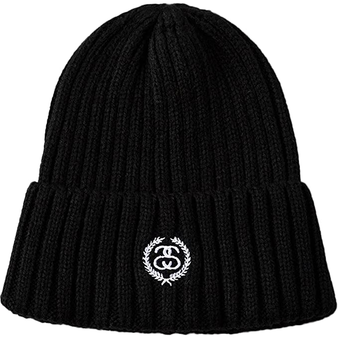 Stussy Womens SS Crest Beanie Hat Cap One Size Black  Amazon.ca ... 3e96c512c35