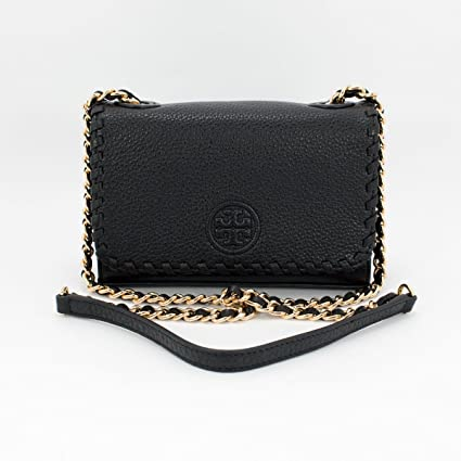 7fa45555f5f0 Tory Burch Marion Shrunken Adjustable Shoulder Crossbody Handbag   Amazon.in  Bags
