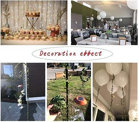 Amyzor Guirnalda de Hojas Artificiales para decoración de ...