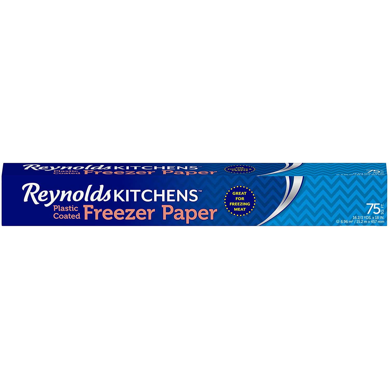 Amazon.com: Reynolds Kitchens Freezer Paper (75 Square Foot Roll): Health U0026  Personal Care