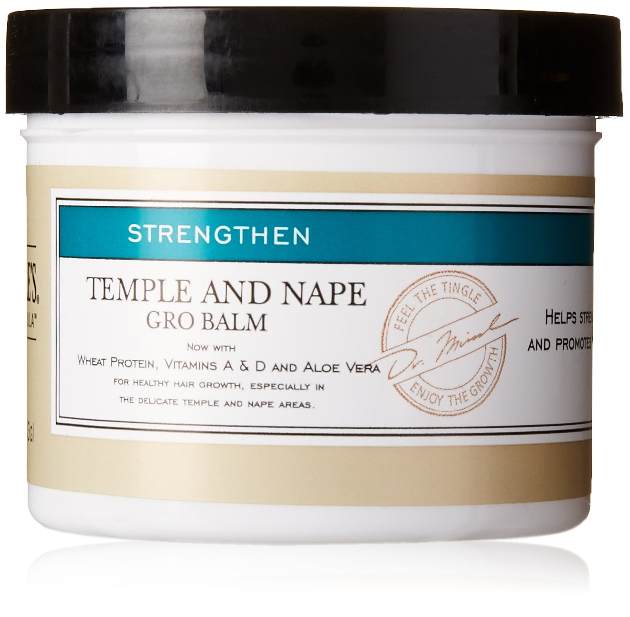 Dr. Miracle's Feel It Formula Temple and Nape Gro Balm, 4 Ounce 000040