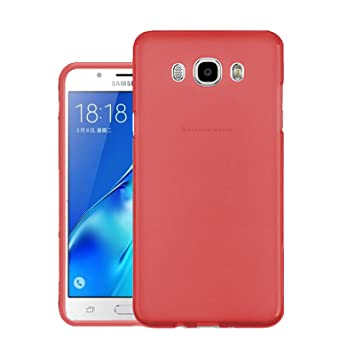 new arrival f64cd 1a419 TBOC Red Ultra Thin TPU Silicone Gel Case Cover for Samsung Galaxy ...
