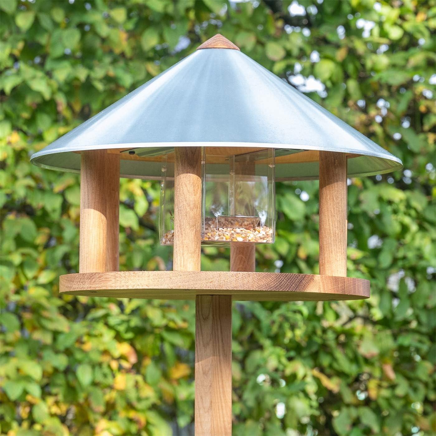 Bird Feeder Birdhouse Feeding Station Voss.garden Aarhus Wooden Bird Table