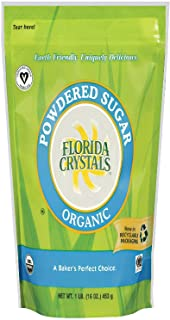 product image for Florida Crystals Sugar, Organic Powdered, 16 Ounce