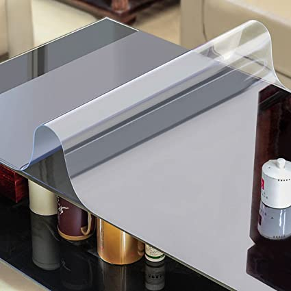 Amazoncom AiXiAng Custom Mm Waterproof Clear Pvc Table Cover - Table top covers custom
