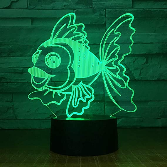 Luces nocturnas 3D wangZJ/Granada de juguete / / Coche / 7 colores ...