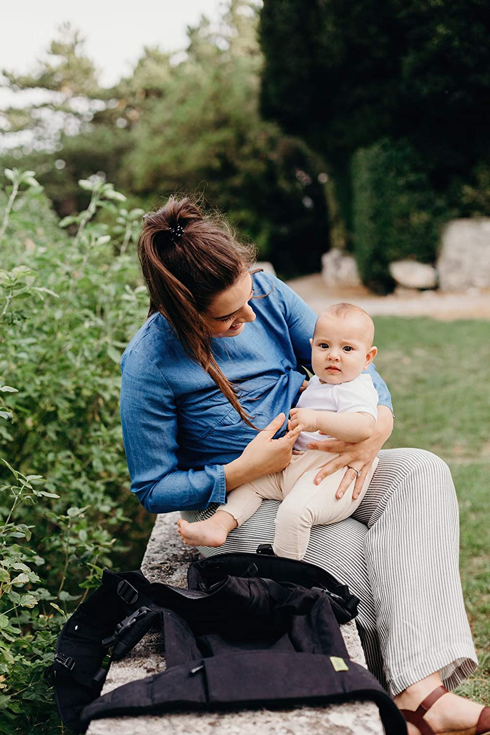 Grey Boba X Baby Carrier