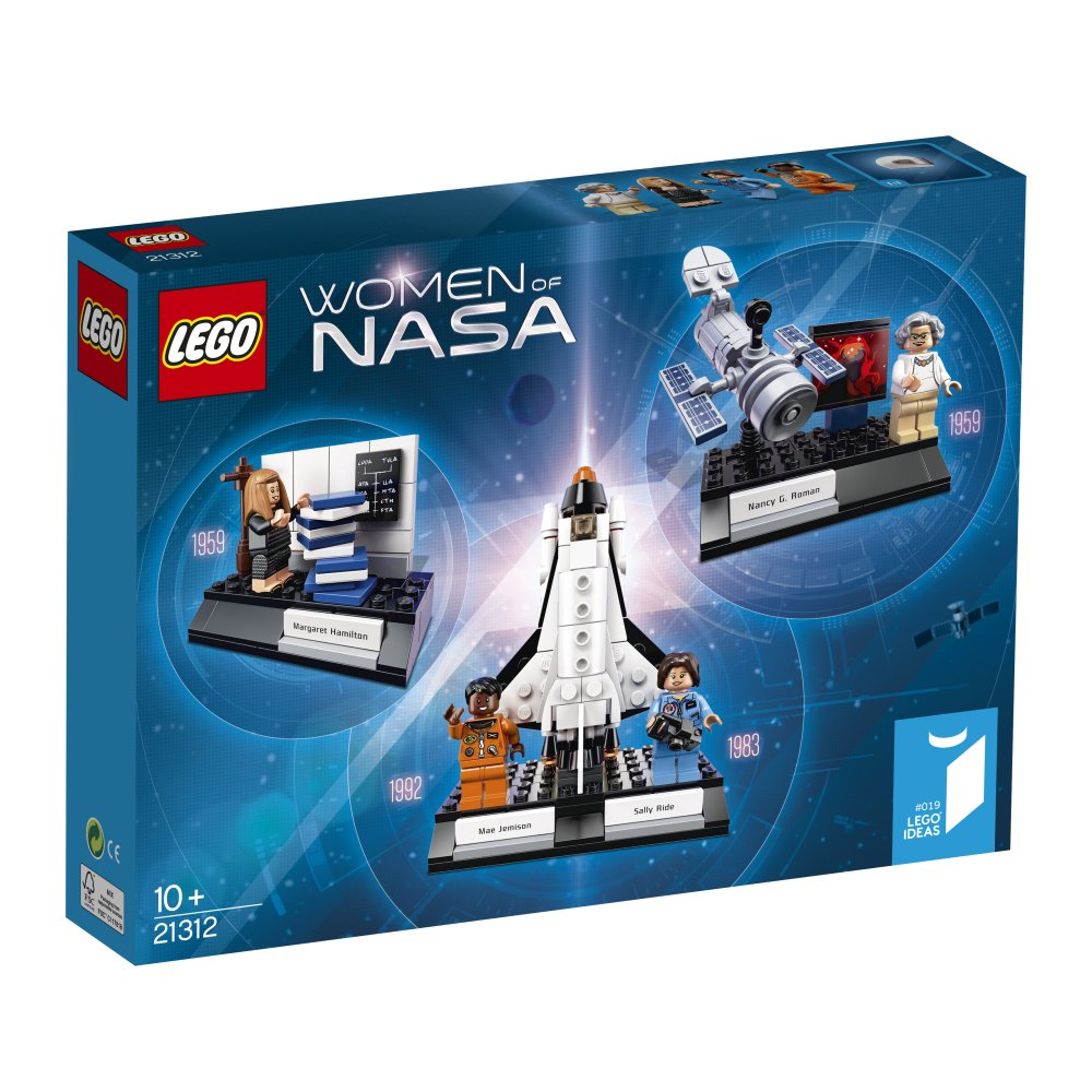 LEGO Ideas Women of NASA (21312) - Building Toy and Popular Gift for Fans of LEGO Sets and Space (231 Pieces) 6212071
