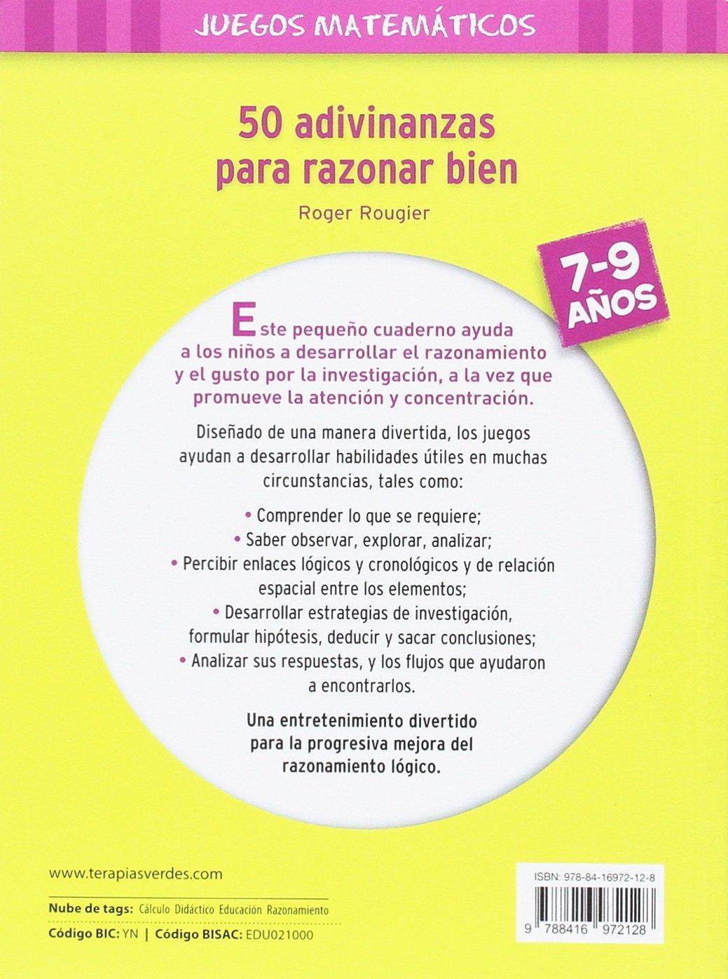 50 Adivinanzas Para Razonar Bien Terapias Juegos Didácticos: Amazon.de:  Roger Rougier: Fremdsprachige Bücher