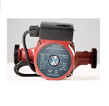 Circulation Pump RS 25/4-180 Stainless Steel Circulating Hot Water ...