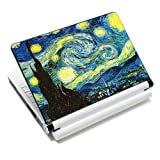 """ICOLOR Laptop Skin Sticker Soft Vinyl Decal Cover for 12.1"""" 13.3"""" 14.1"""" 15.4"""" 15.6 inch Sony HP Asus Acer Toshiba Dell Notebook Hurricane"""