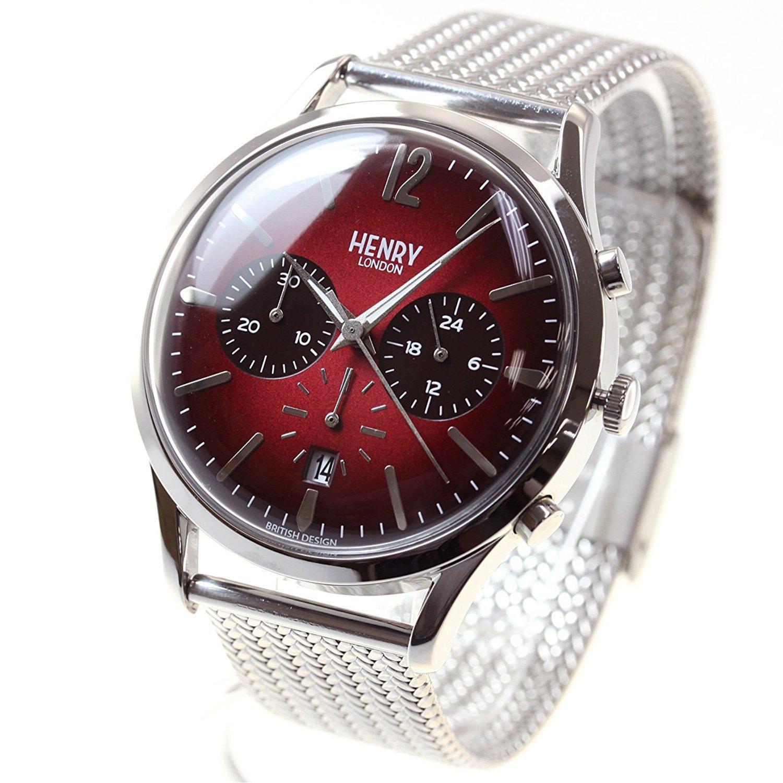 4f0077dd83 Henry London WatchメンズレディースChancery hl41-cm-0101 B078ZTPM7Y -メンズ腕時計
