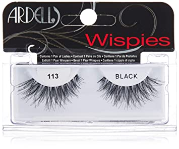8065da809a0 Amazon.com : Ardell Glamour Lash-113 Black, 2 Pack : Beauty
