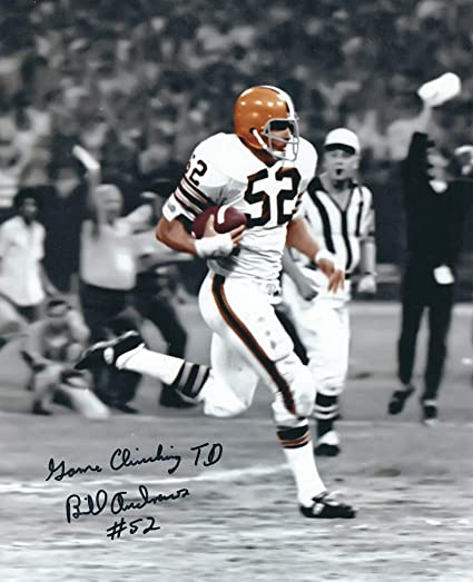 Wholesale Autographed Bill Andrews 8x10 Photo Cleveland Browns at Amazon's  supplier