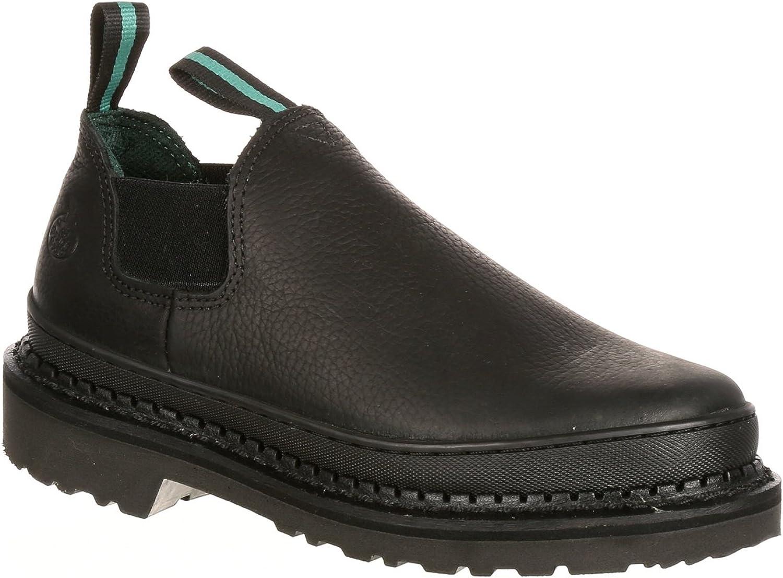 Slip-in Giant Romeo Black Work Boots