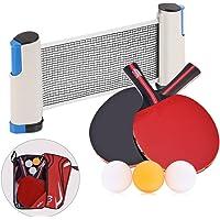 Juego de Tenis de Mesa - Red de Ping Pong Palas y Pelotas