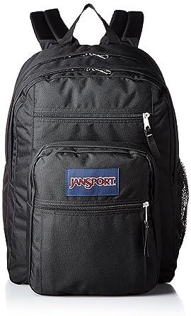 Amazon.com: JanSport Big Student Backpack ((Black/Black ...