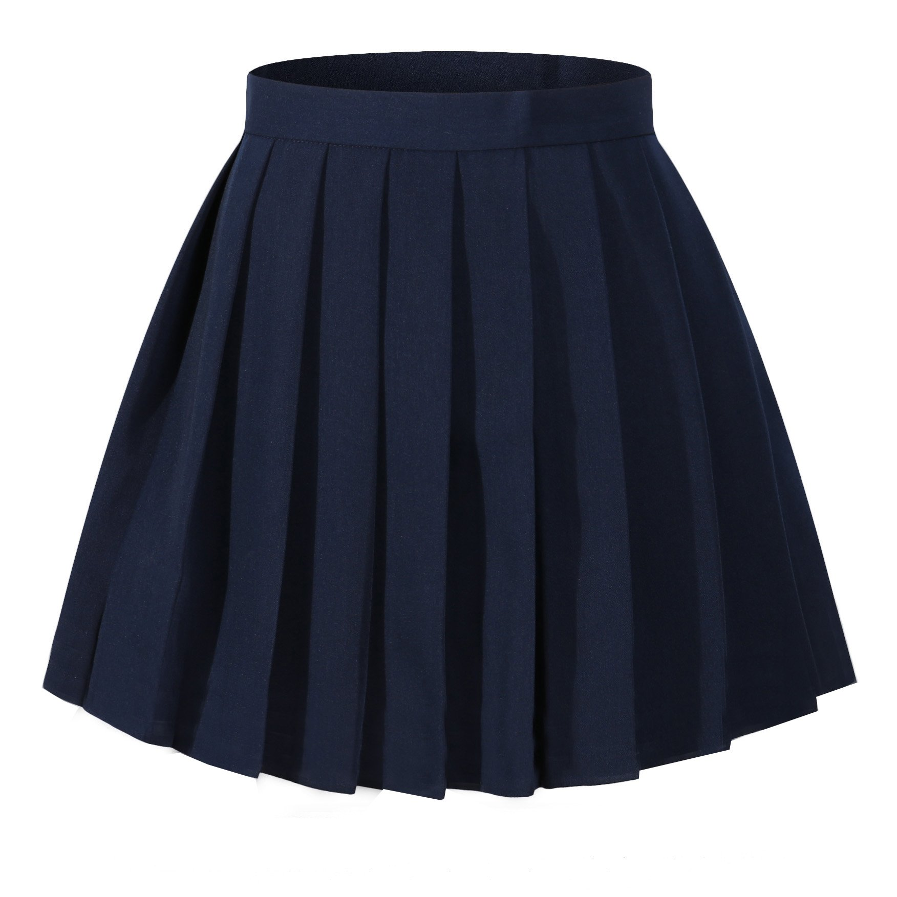 Girls`s School Uniform Pleated Short Skirts
