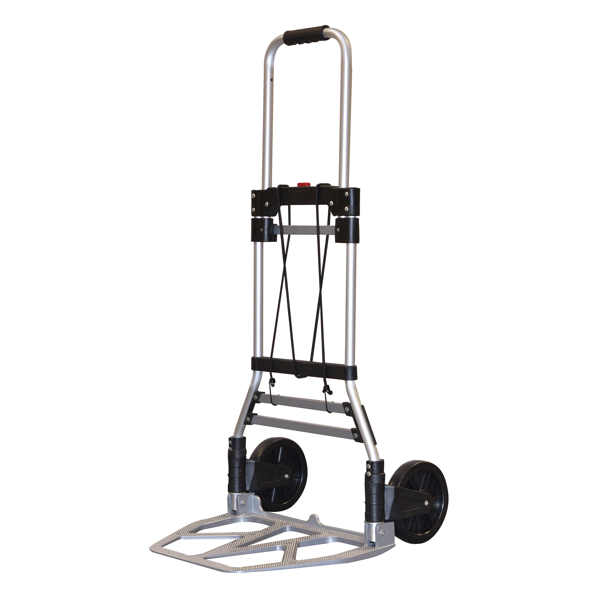 Milwaukee Hand Trucks 33882 Aluminum Fold up Hand Truck with 7-Inch Tires
