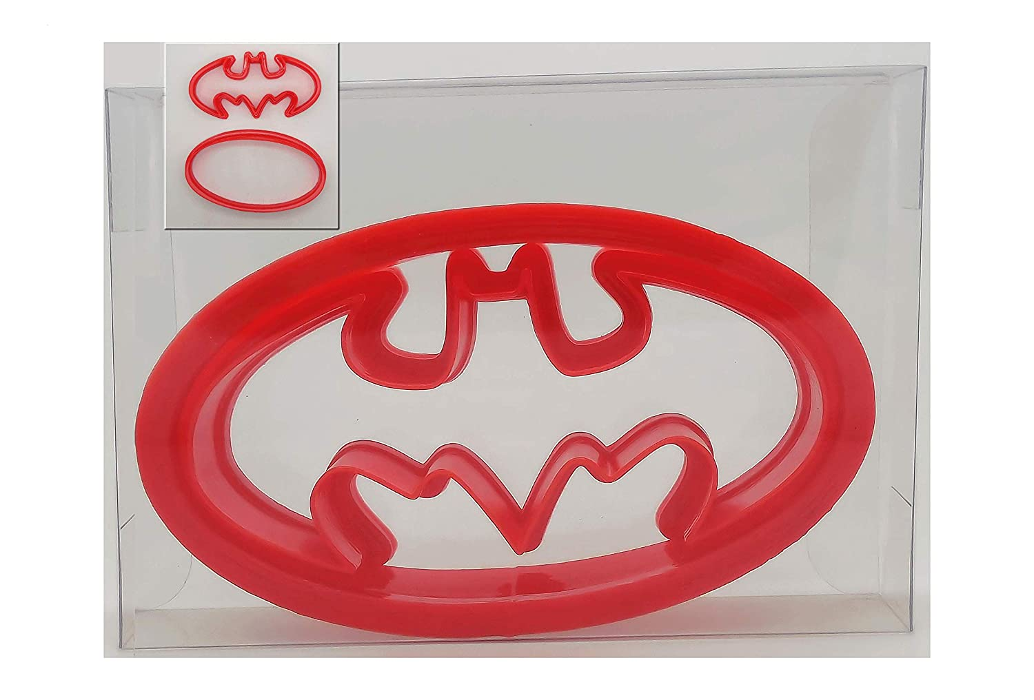 Batman Logo Shaped Biscuit, Pastry, Cookie Cutter Goggly