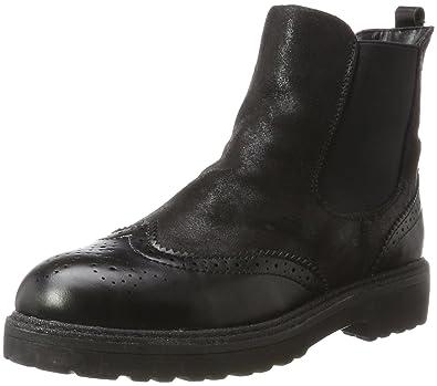 s.Oliver Damen 25301 Chelsea Boots, Schwarz (Black), 36 EU