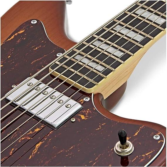 SubZero Rogue VI Guitarra Electrica Bartitono Tobacco Sunburst ...