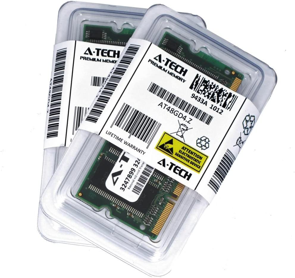 2GB KIT (2 x 1GB) for Dell Inspiron 500m 510m 5150 5160 600m 700m 710m 8500 8600 8600c 9200. SO-DIMM DDR Non-ECC PC2700 333MHz RAM Memory. Genuine A-Tech Brand.