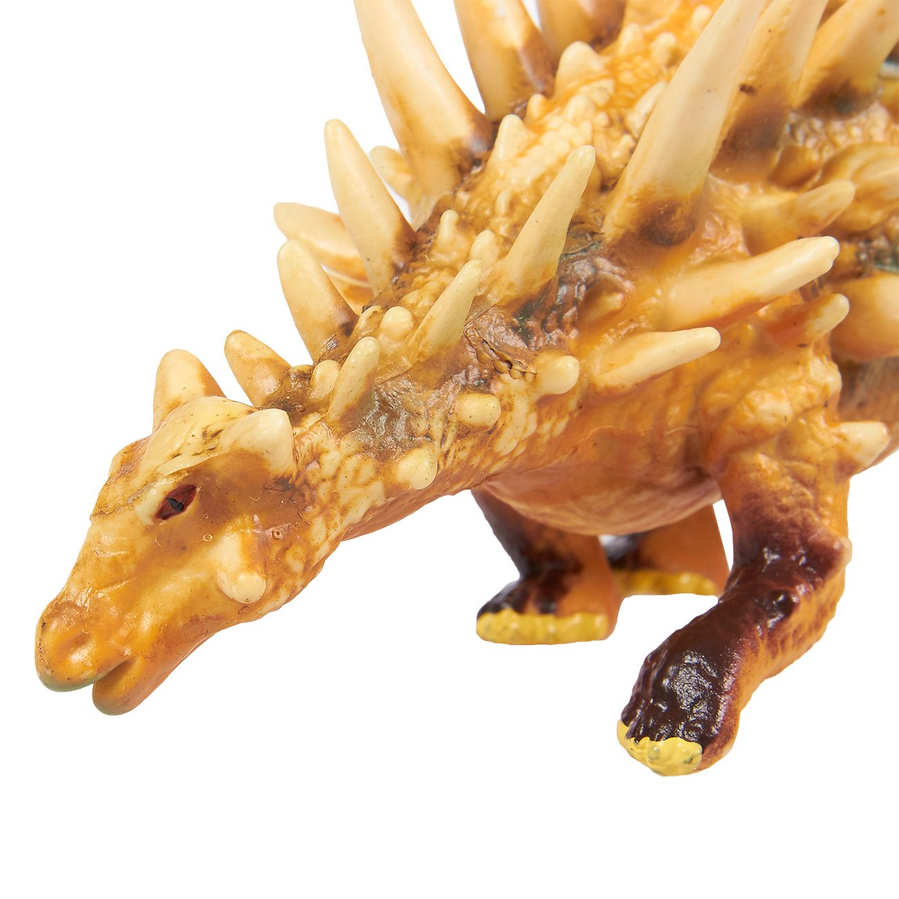 Themed Parties 9 x 2.5 x 3.2 Inches Decorations Brown Juvale Dinosaur Toy Polacanthus Figurine Realistic Plastic Toy Dinosaur Figure for Children