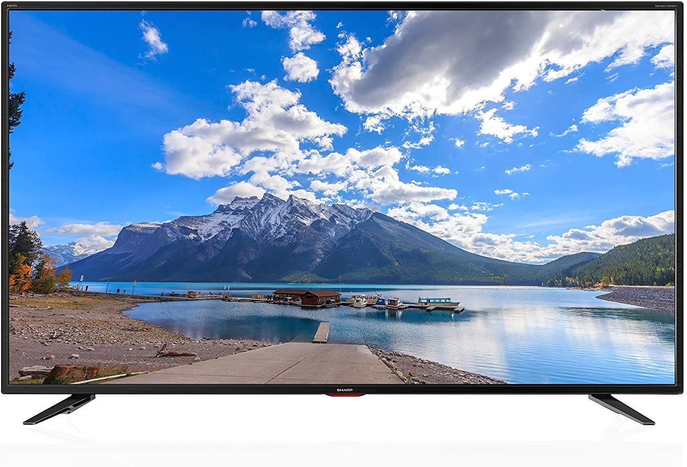 Sharp 4 K Ultra HD Smart LED TV, 164 cm (65 Pulgadas), Harman/Kardon Sistema de Sonido, LC de 65ui7552e, Negro: Amazon.es: Electrónica