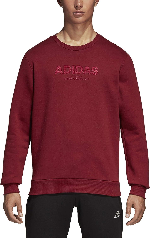 adidas Essentials Allcap Crew Sweat Shirt à Manches Longues