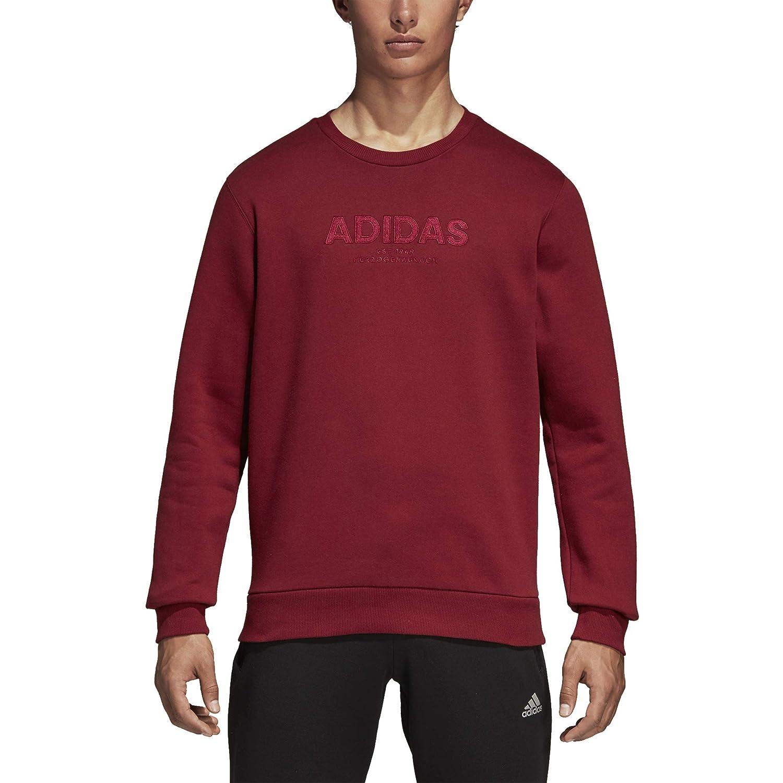 adidas Herren Essentials Allcap Crew Langarm Sweatshirt