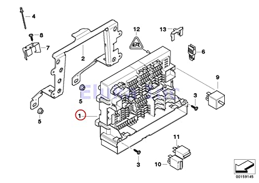 2013 bmw 335i fuse diagram