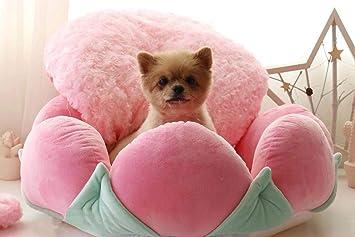 Lamzoom Deluxe Cama para Mascotas para Gatos y Cachorros Perros pequeños, Cuddler con cojín Suave