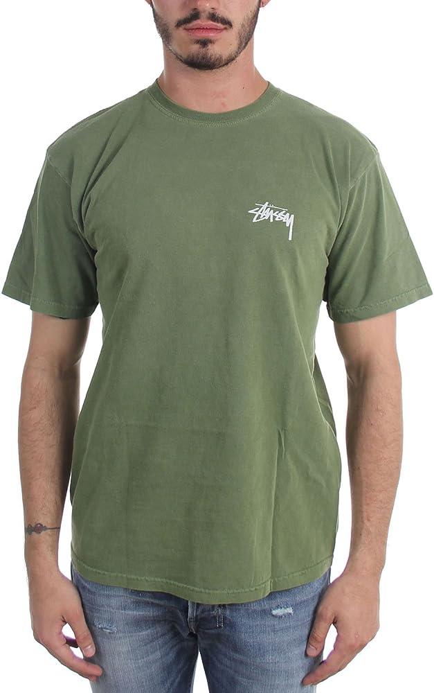 Stussy - Camiseta - para hombre verde verde oliva Medium: Amazon.es: Ropa y accesorios