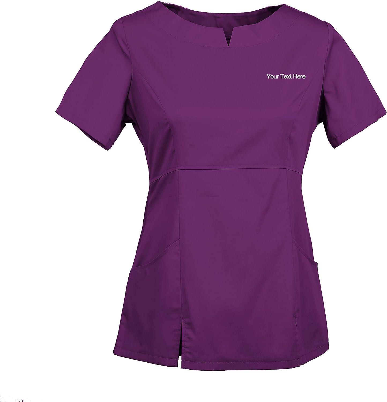 TAILORS Personalizzata Personalizzabile Ricamato Donna Divise da Lavoro Medico Infermiera Sanitario