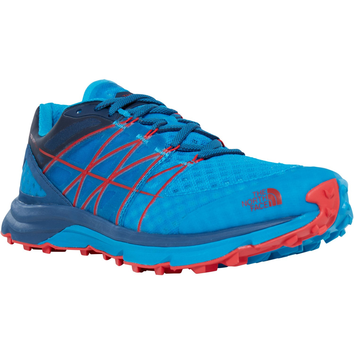 f8bd926fa Amazon.com | The North Face Ultra Vertical Trail Running Shady Blue ...