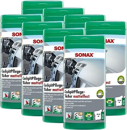 SONAX 8 x 04158410 Cabina Toallitas (matteffect Caja 25 Unidades ...