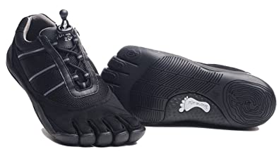 Fut Glove Women's Zum Five Toe Shoes (35 M EU / 5-5.5 (B)M US, Black)