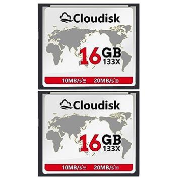 2pcs 16 GB Rendimiento De La Tarjeta De Memoria Compact ...