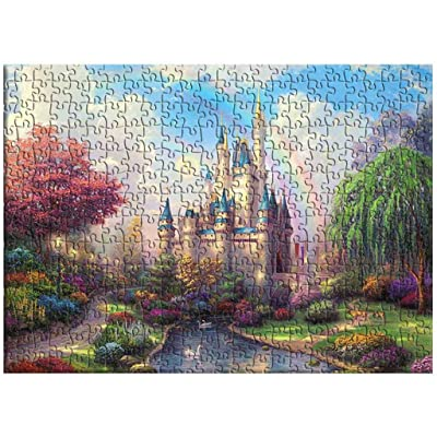 1000PC Jigsaw Puzzle Princess's Castle for Adults and Children Puzzles Toys Teacher Reward, Party Favors, Puzzle Night: Toys & Games